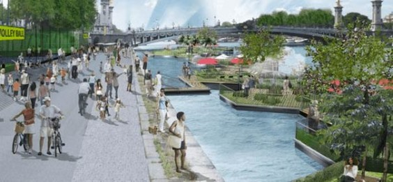 Berge de Seine design concepts