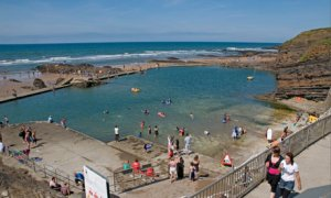 Bude Sea Pool Cornwall UK