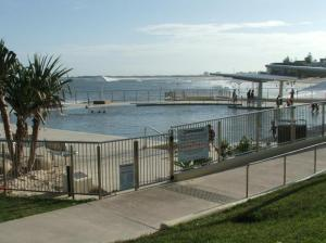 Caloundra, Kings Beach seawater pool in Queensland, Australia
