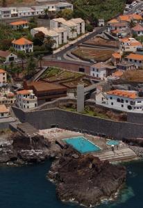 Natural sea water pool Salinas, Câmara de Lobos, Madeira