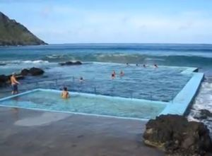 São Lourenço Bay on Santa Maria island, Azores, Portugal