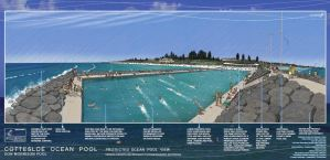 Artists Impression of the proposed Cottesloe Ocean Pool